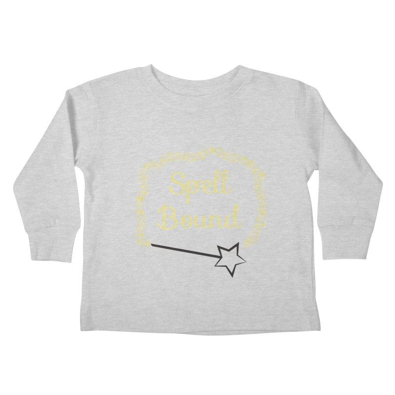 Spell Bound Kids Toddler Longsleeve T-Shirt by Magic Pixel's Artist Shop