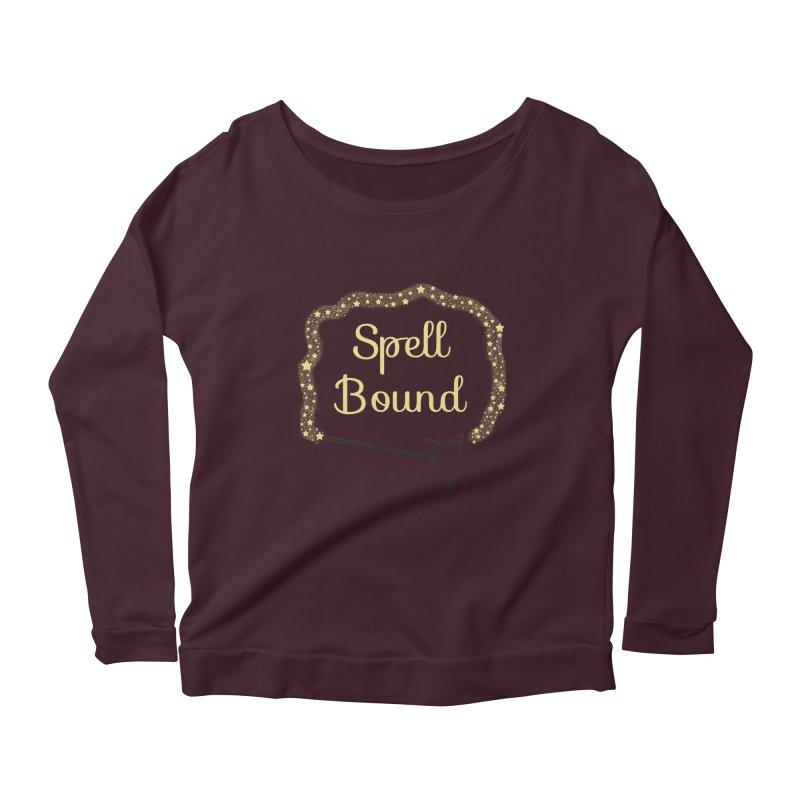 Spell Bound Women's Scoop Neck Longsleeve T-Shirt by Magic Pixel's Artist Shop