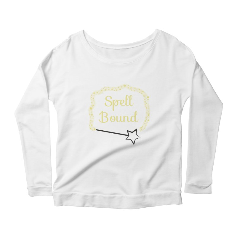Spell Bound Women's Scoop Neck Longsleeve T-Shirt by Magic Pixel's Artist Shop