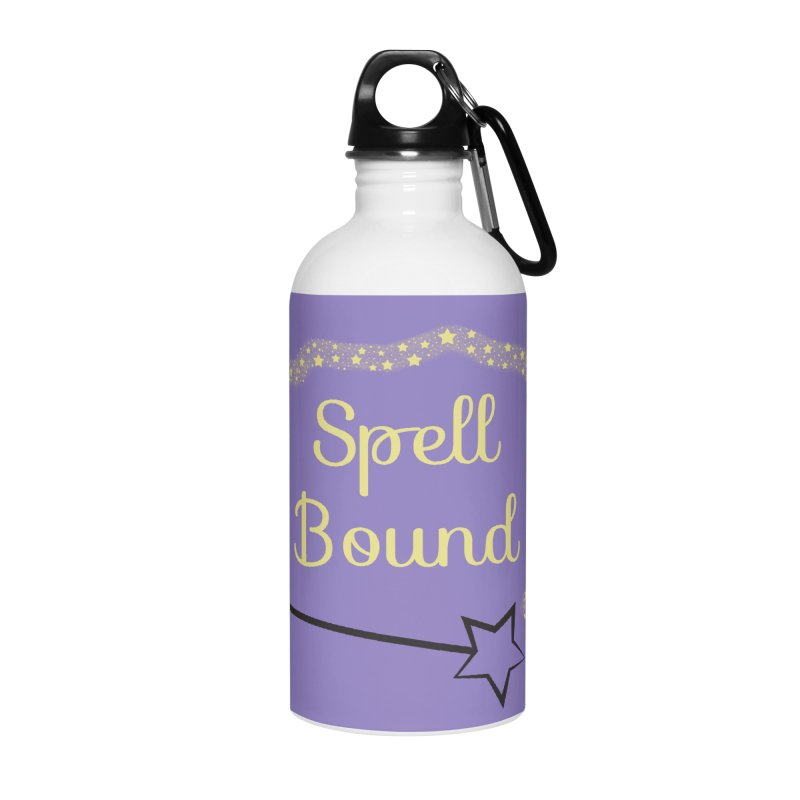 Spell Bound Accessories Water Bottle by Magic Pixel's Artist Shop