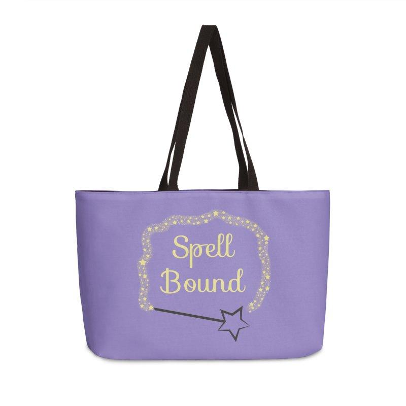 Spell Bound Accessories Weekender Bag Bag by Magic Pixel's Artist Shop