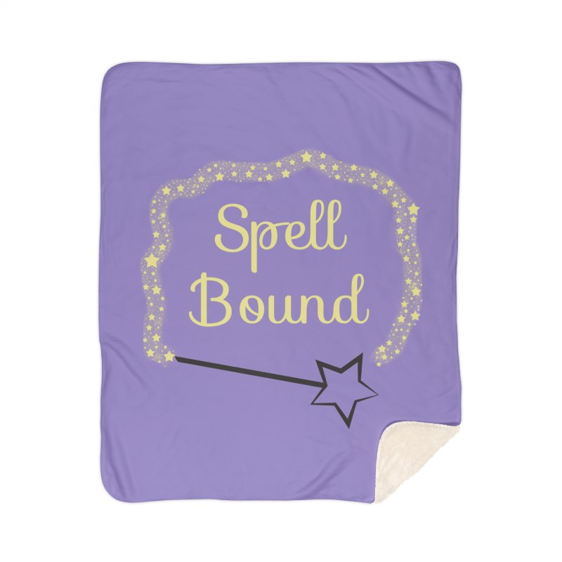 Spell Bound Home Sherpa Blanket Blanket by Magic Pixel's Artist Shop