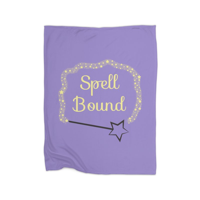 Spell Bound Home Fleece Blanket Blanket by Magic Pixel's Artist Shop