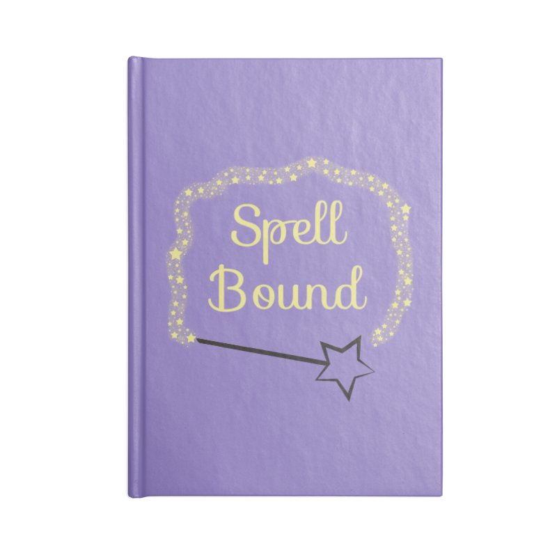 Spell Bound Accessories Lined Journal Notebook by Magic Pixel's Artist Shop