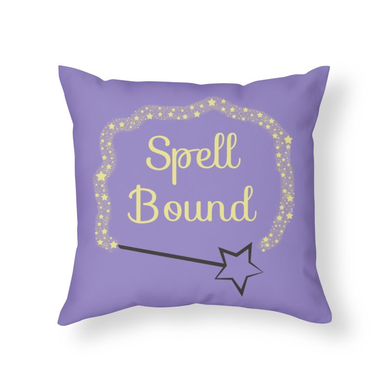 Spell Bound Home Throw Pillow by Magic Pixel's Artist Shop