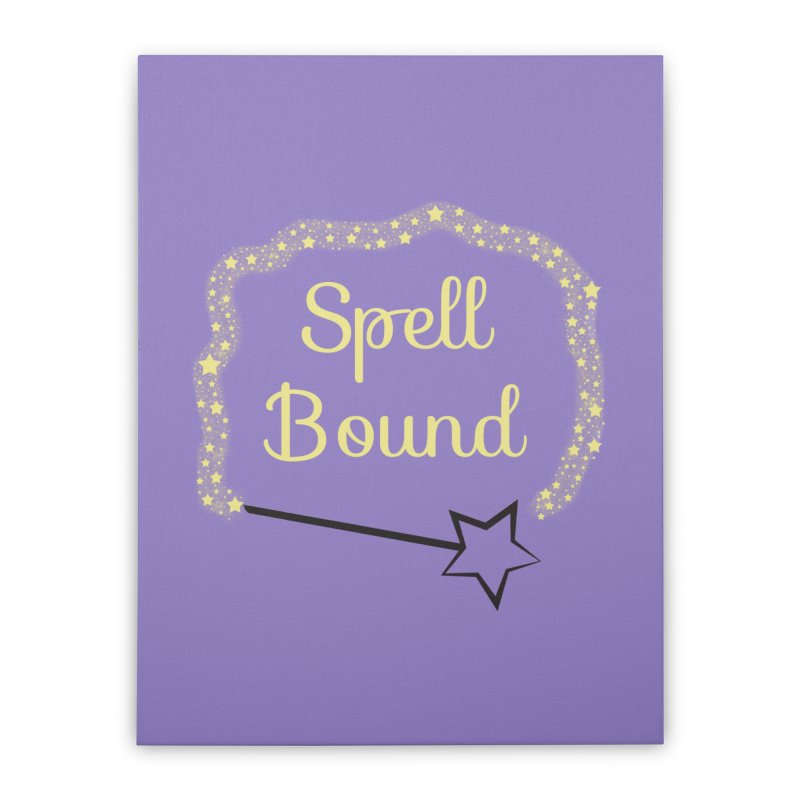 Spell Bound Home Stretched Canvas by Magic Pixel's Artist Shop