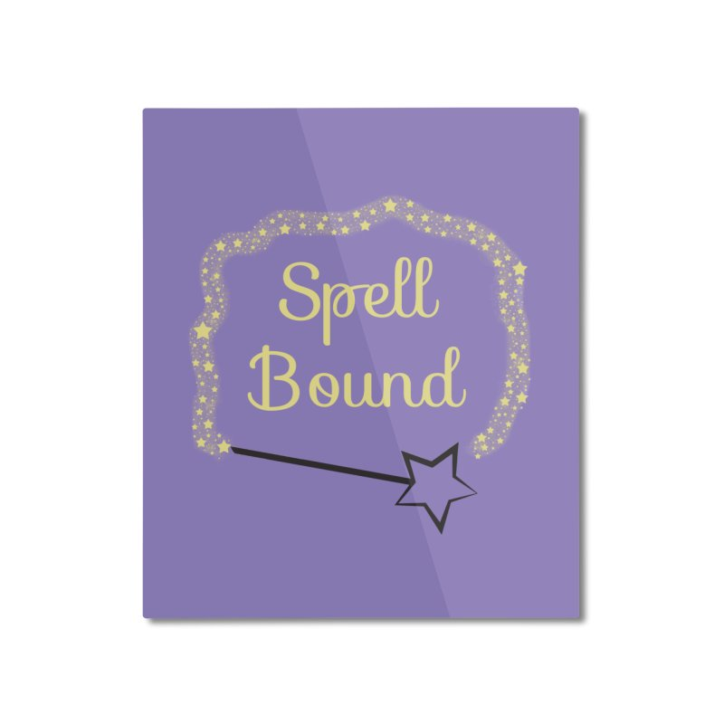 Spell Bound Home Mounted Aluminum Print by Magic Pixel's Artist Shop