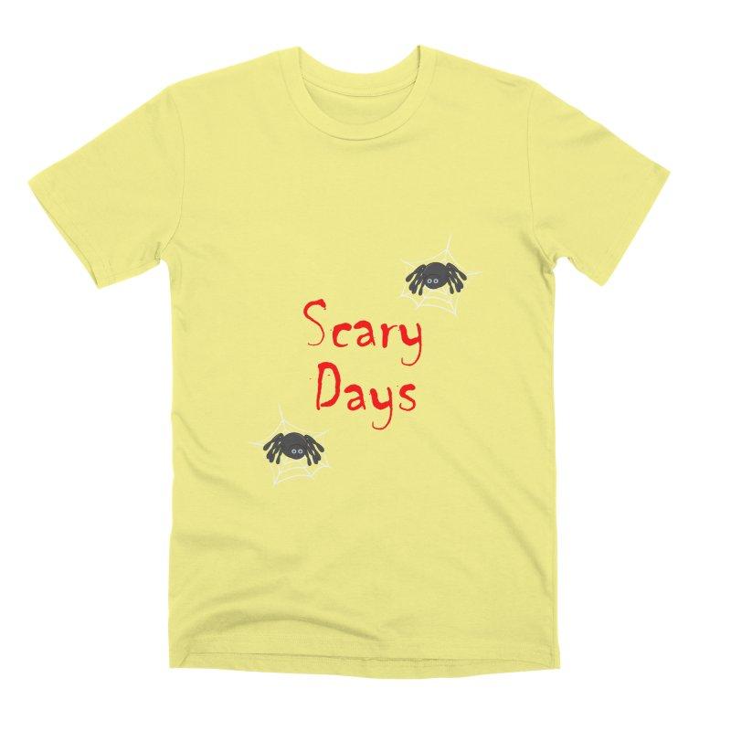 Scary Days Men's Premium T-Shirt by Magic Pixel's Artist Shop