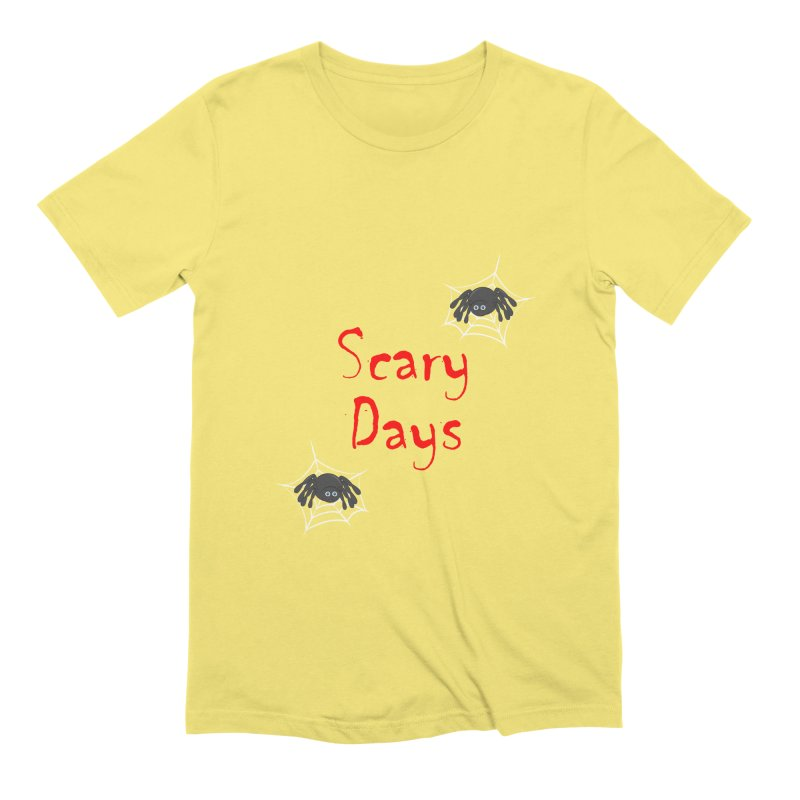Scary Days Men's Extra Soft T-Shirt by Magic Pixel's Artist Shop