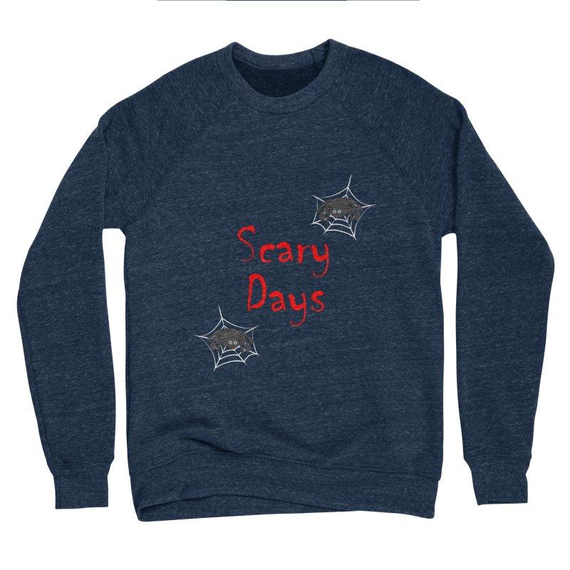 Scary Days Men's Sponge Fleece Sweatshirt by Magic Pixel's Artist Shop