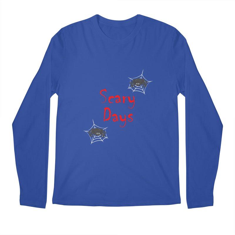 Scary Days Men's Regular Longsleeve T-Shirt by Magic Pixel's Artist Shop