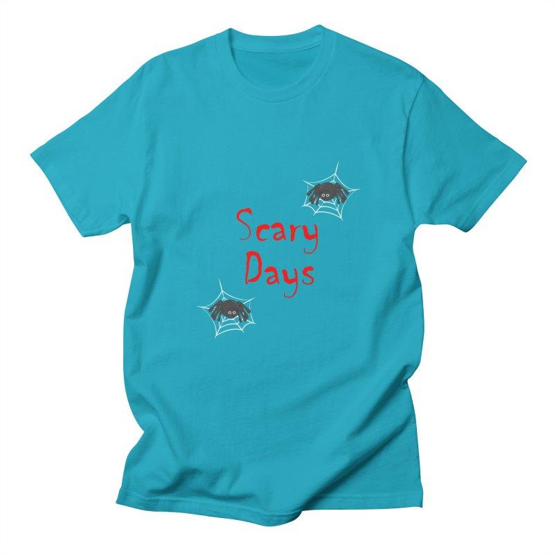 Scary Days Women's Regular Unisex T-Shirt by Magic Pixel's Artist Shop