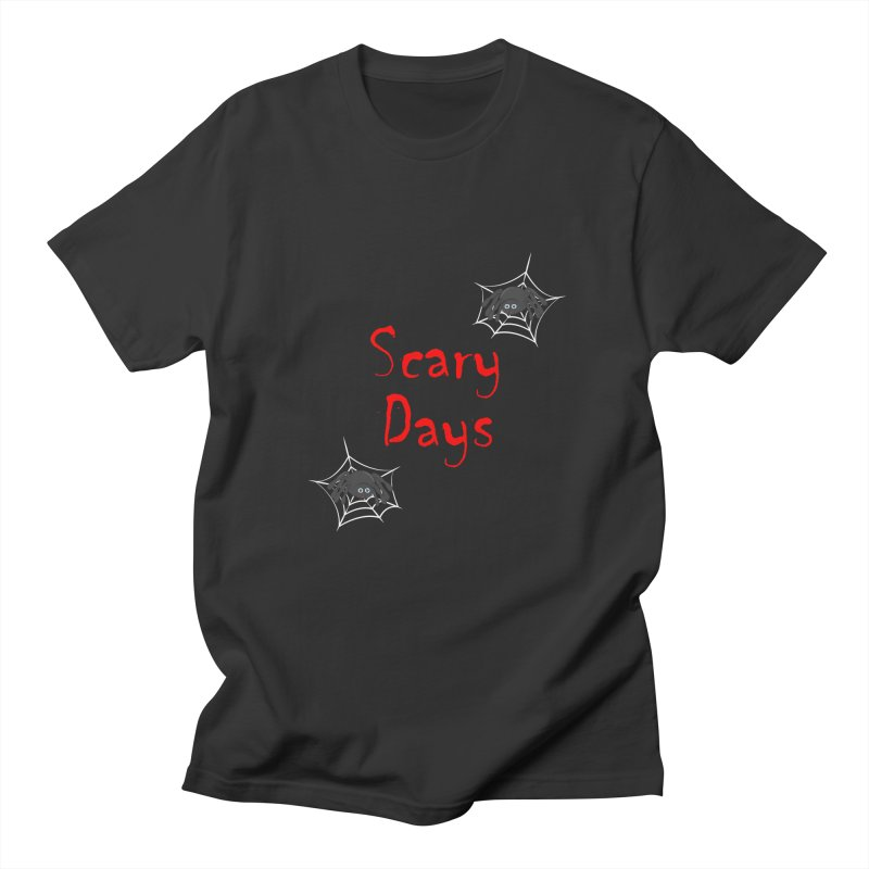 Scary Days Men's Regular T-Shirt by Magic Pixel's Artist Shop