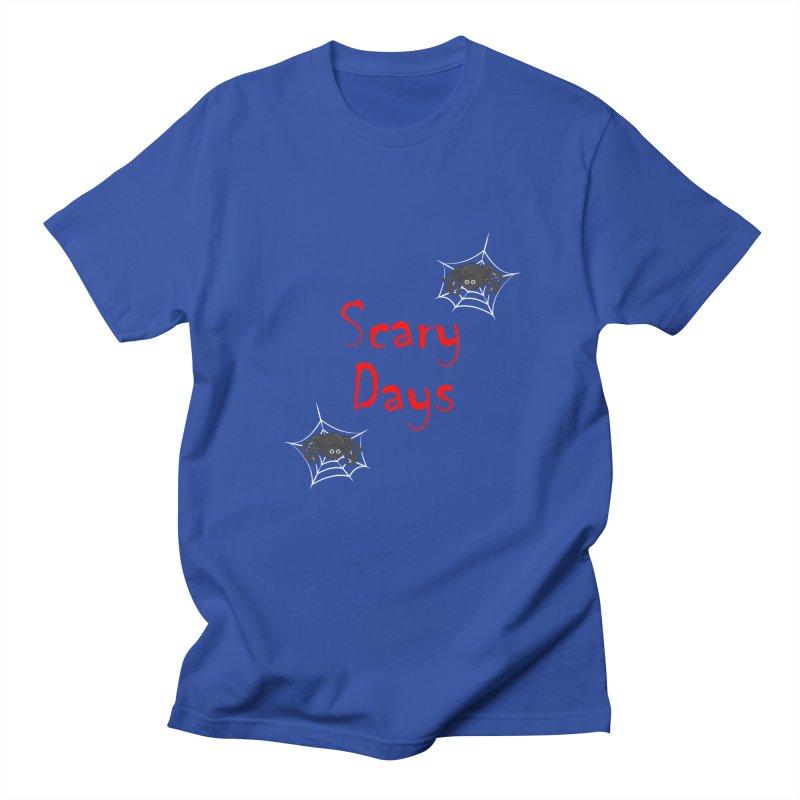 Scary Days Men's Regular T-Shirt by Magic Pixel's Artist Shop