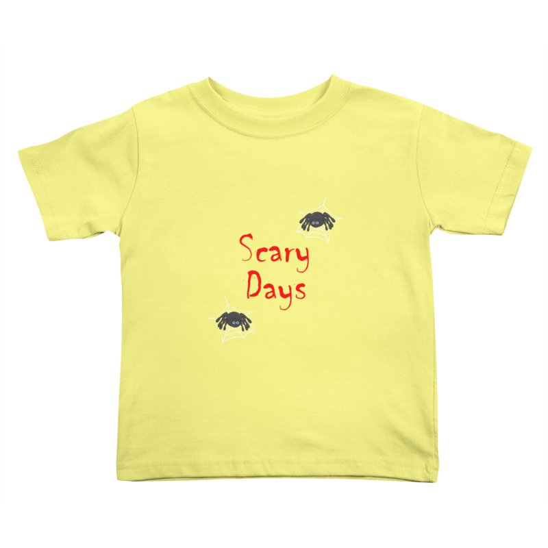Scary Days Kids Toddler T-Shirt by Magic Pixel's Artist Shop