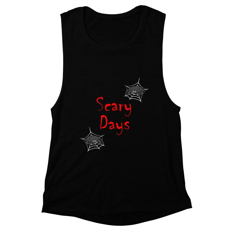 Scary Days Women's Muscle Tank by Magic Pixel's Artist Shop