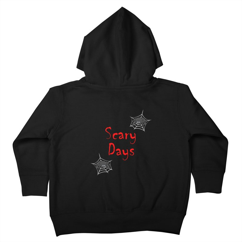 Scary Days Kids Toddler Zip-Up Hoody by Magic Pixel's Artist Shop