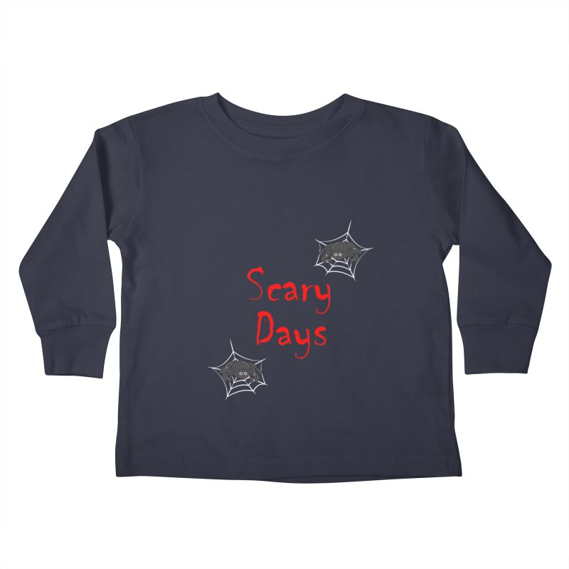 Scary Days Kids Toddler Longsleeve T-Shirt by Magic Pixel's Artist Shop