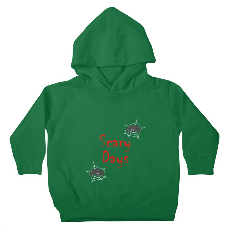 Scary Days Kids Toddler Pullover Hoody by Magic Pixel's Artist Shop
