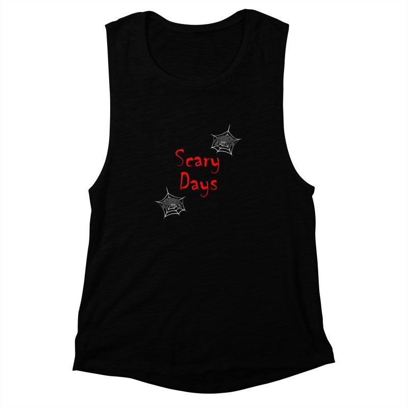 Scary Days Women's Muscle Tank by Magic Pixel's Artist Shop