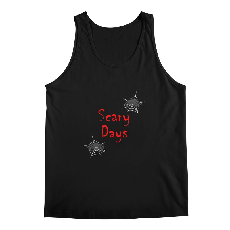Scary Days Men's Regular Tank by Magic Pixel's Artist Shop