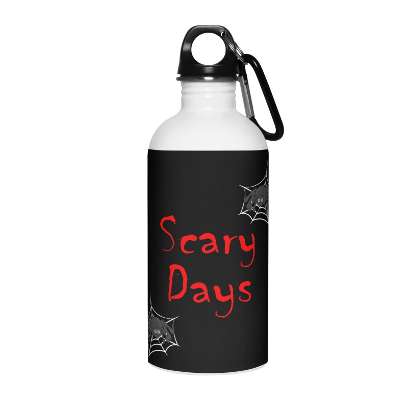 Scary Days Accessories Water Bottle by Magic Pixel's Artist Shop