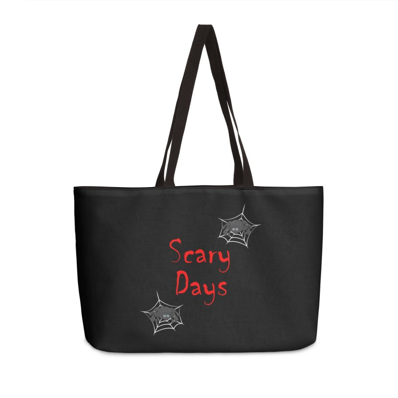 Scary Days Accessories Weekender Bag Bag by Magic Pixel's Artist Shop