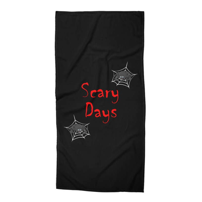 Scary Days Accessories Beach Towel by Magic Pixel's Artist Shop