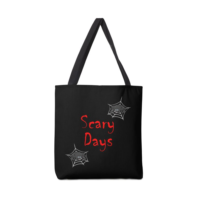 Scary Days Accessories Tote Bag Bag by Magic Pixel's Artist Shop