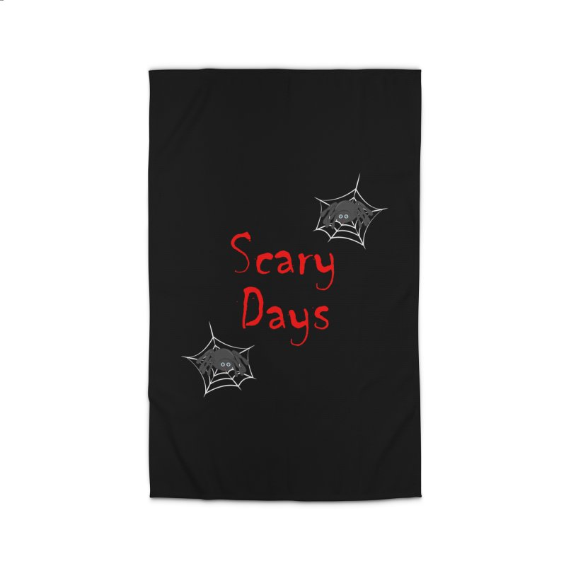 Scary Days Home Rug by Magic Pixel's Artist Shop