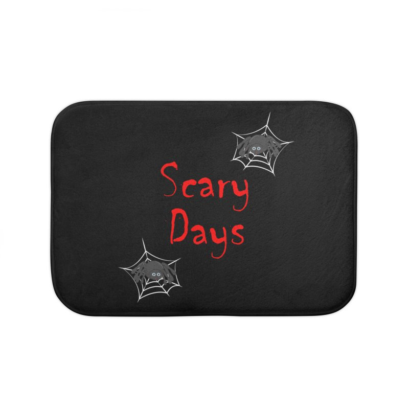 Scary Days Home Bath Mat by Magic Pixel's Artist Shop