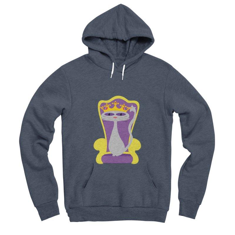 Princess Meera on her Throne Women's Sponge Fleece Pullover Hoody by Magic Pixel's Artist Shop