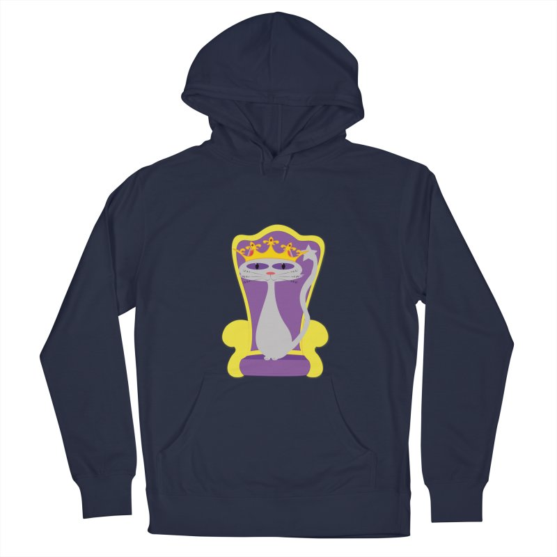 Princess Meera on her Throne Women's French Terry Pullover Hoody by Magic Pixel's Artist Shop