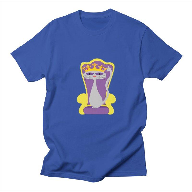 Princess Meera on her Throne Women's Regular Unisex T-Shirt by Magic Pixel's Artist Shop