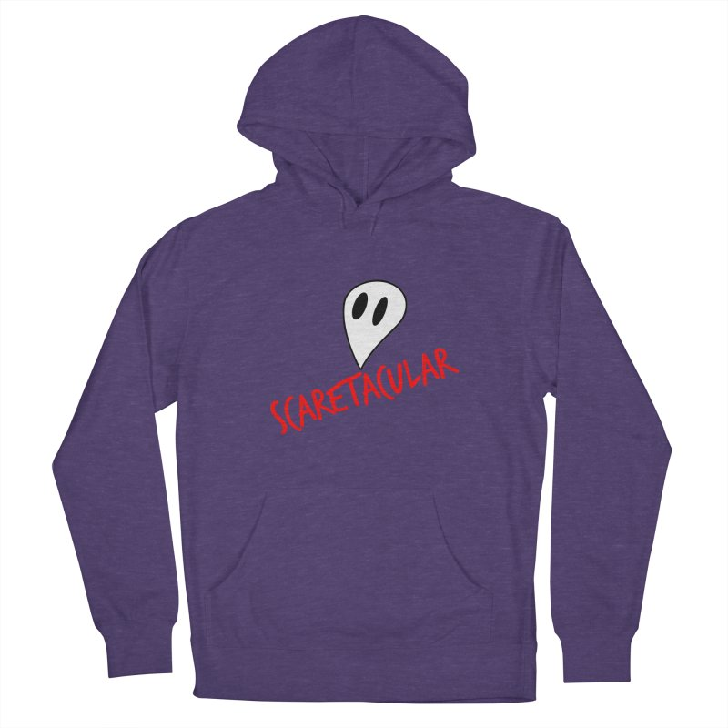 Scaretacular Women's French Terry Pullover Hoody by Magic Pixel's Artist Shop