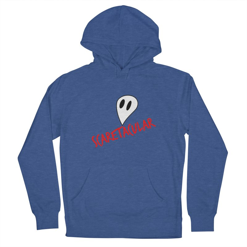 Scaretacular Men's French Terry Pullover Hoody by Magic Pixel's Artist Shop
