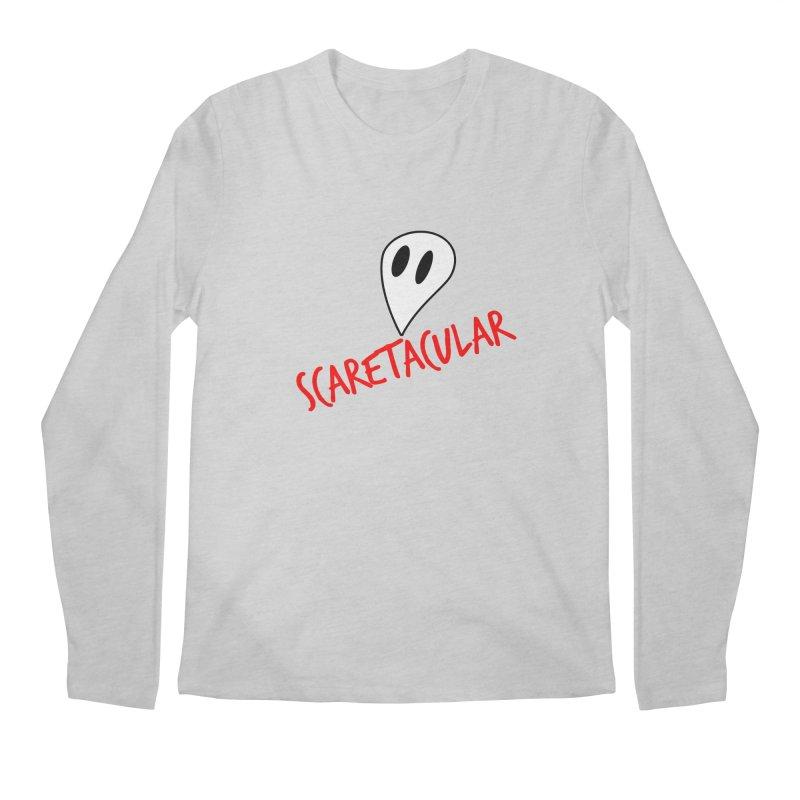 Scaretacular Men's Regular Longsleeve T-Shirt by Magic Pixel's Artist Shop