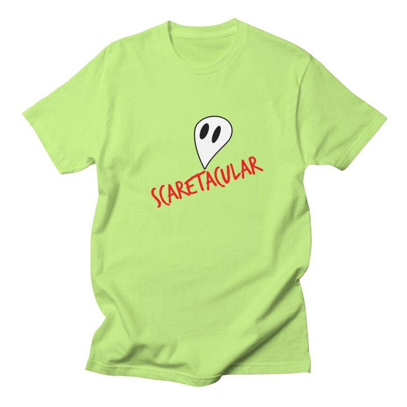 Scaretacular Women's Regular Unisex T-Shirt by Magic Pixel's Artist Shop