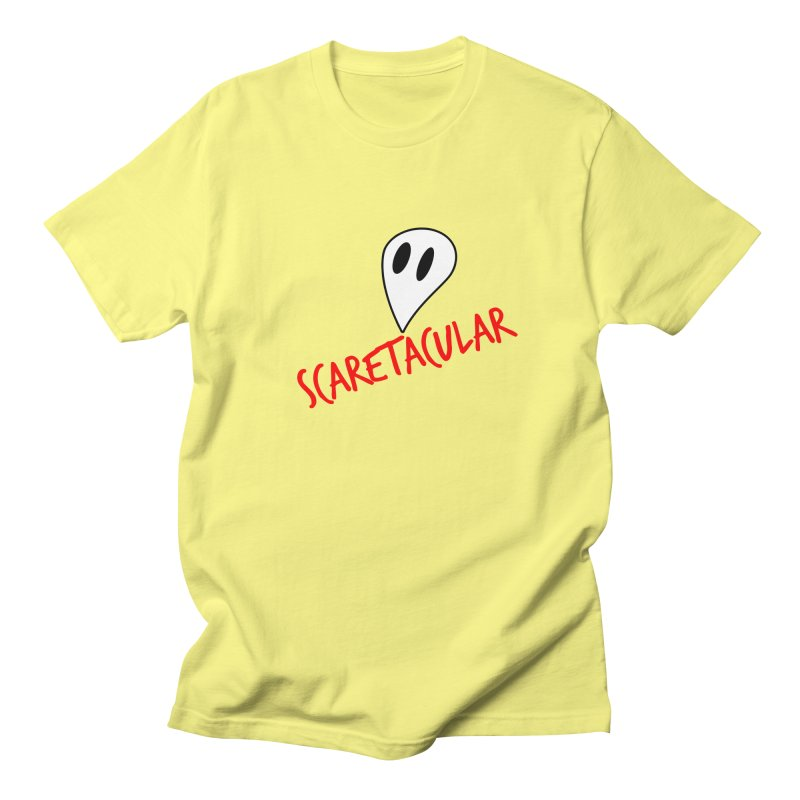 Scaretacular Men's Regular T-Shirt by Magic Pixel's Artist Shop