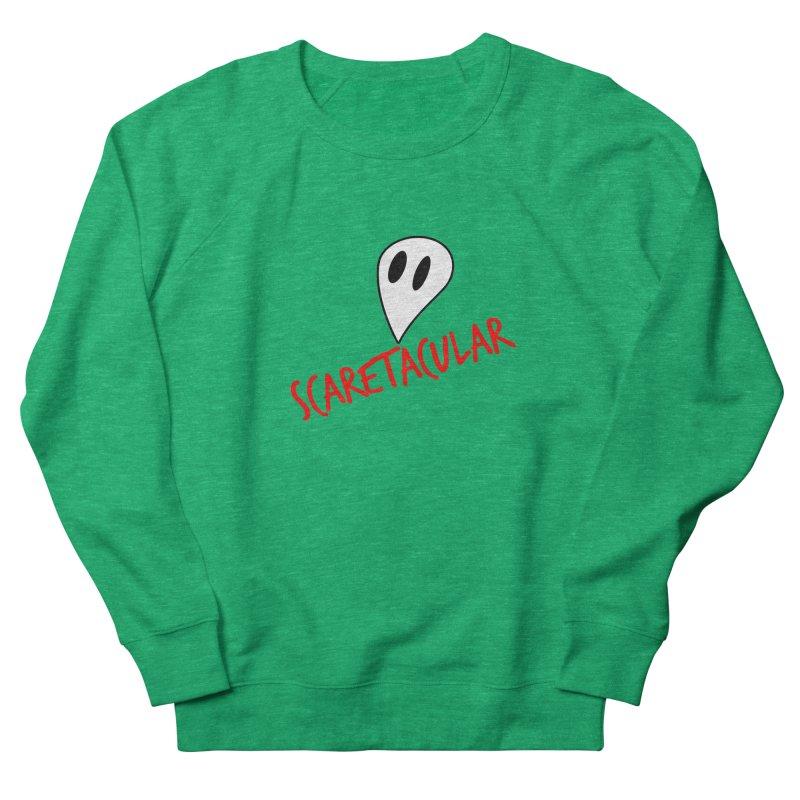 Scaretacular Women's French Terry Sweatshirt by Magic Pixel's Artist Shop