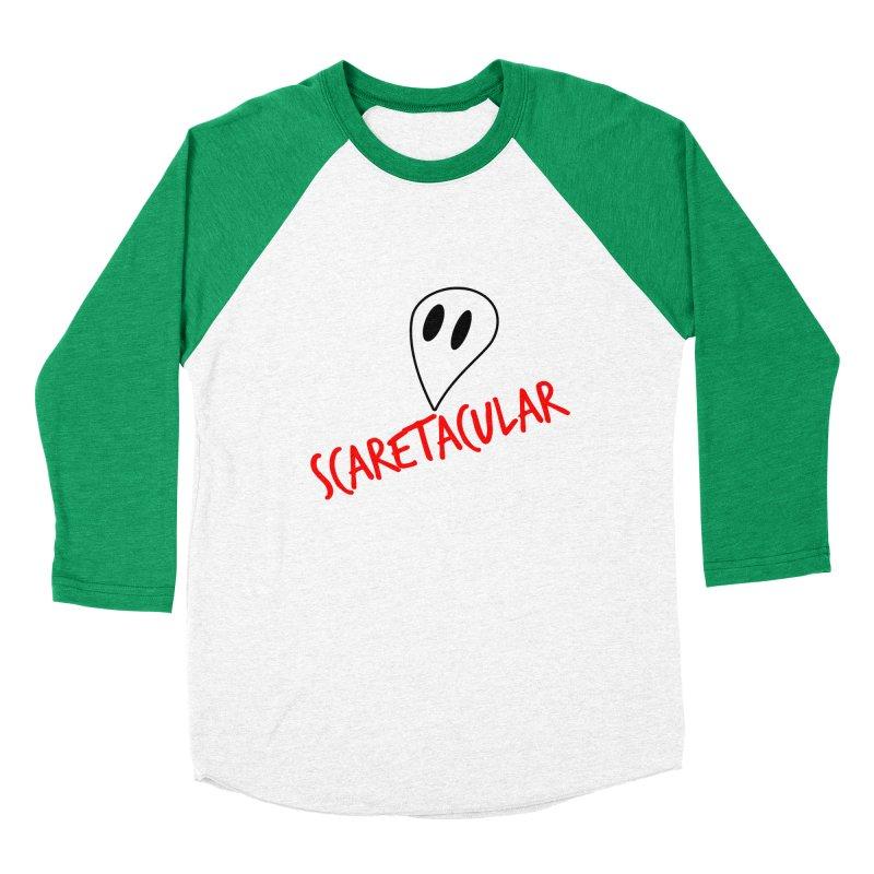 Scaretacular Women's Baseball Triblend Longsleeve T-Shirt by Magic Pixel's Artist Shop