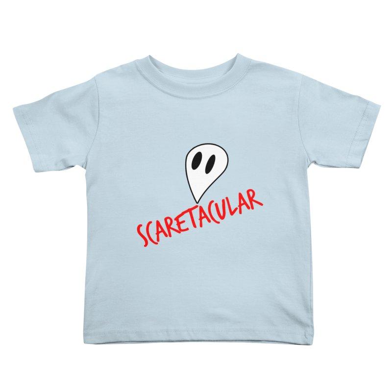 Scaretacular Kids Toddler T-Shirt by Magic Pixel's Artist Shop