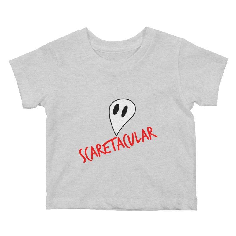 Scaretacular Kids Baby T-Shirt by Magic Pixel's Artist Shop
