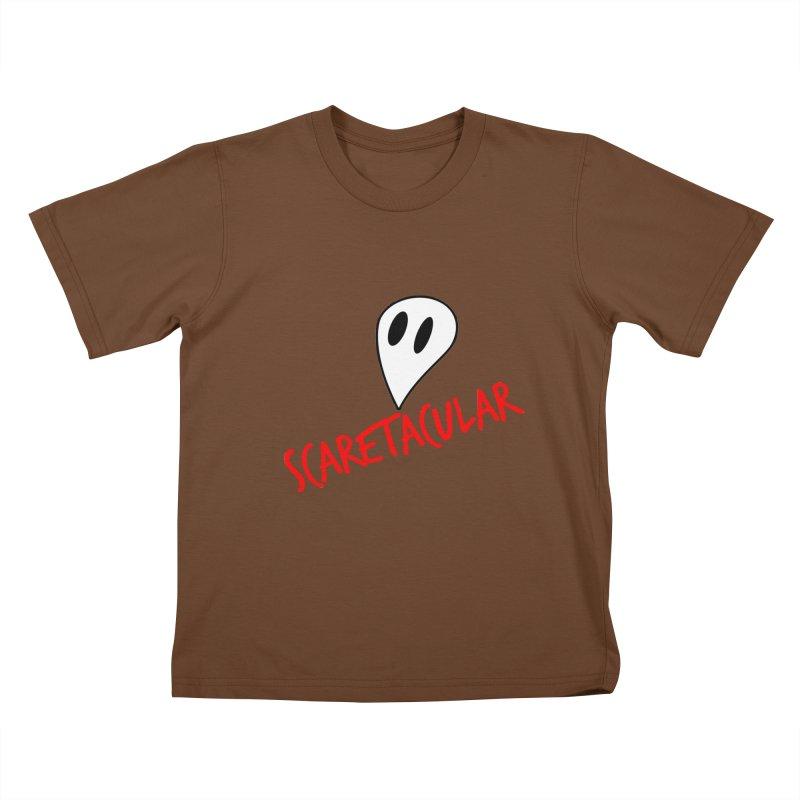 Scaretacular Kids T-Shirt by Magic Pixel's Artist Shop