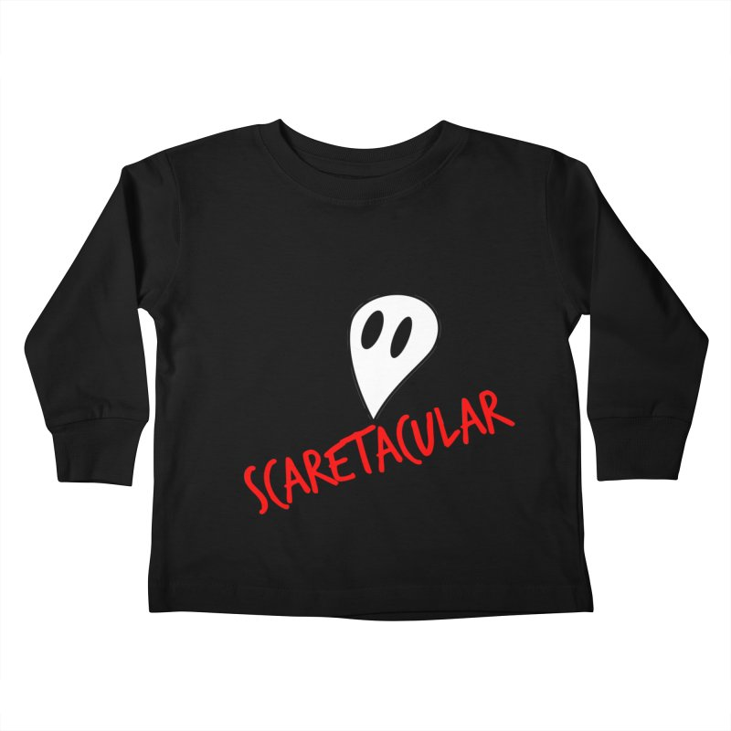 Scaretacular Kids Toddler Longsleeve T-Shirt by Magic Pixel's Artist Shop
