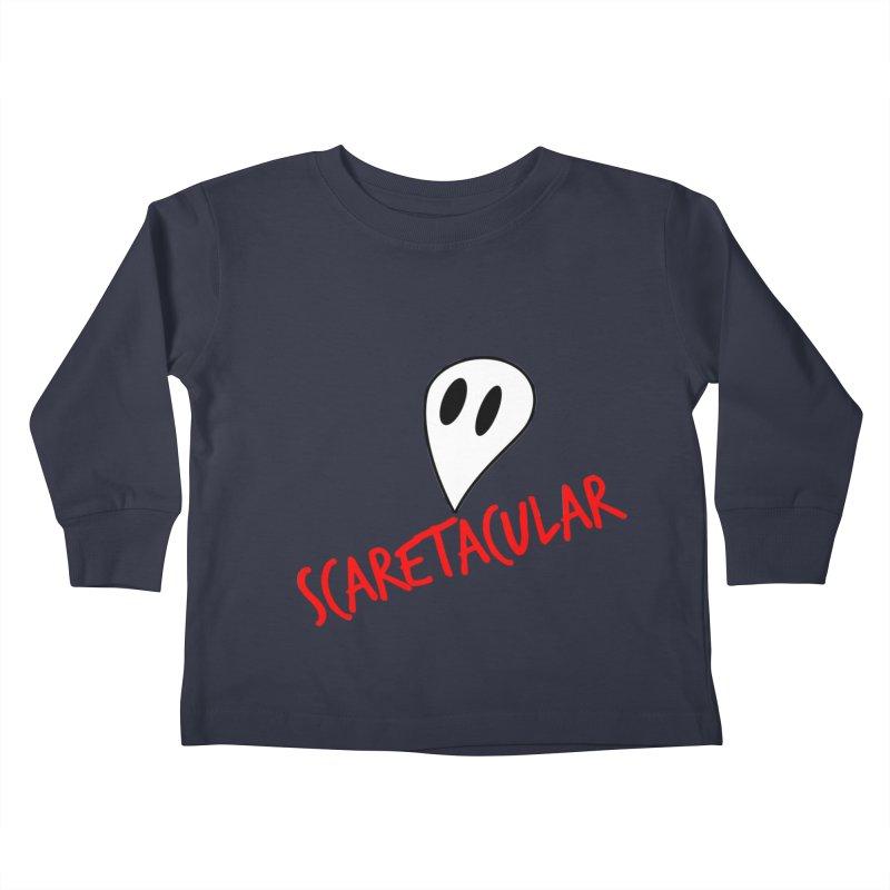 Scaretacular Kids Toddler Longsleeve T-Shirt by Magic Pixel's Artist Shop