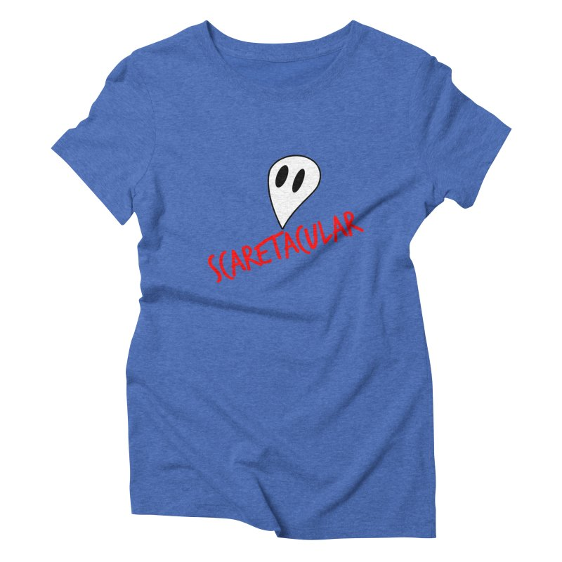 Scaretacular Women's Triblend T-Shirt by Magic Pixel's Artist Shop