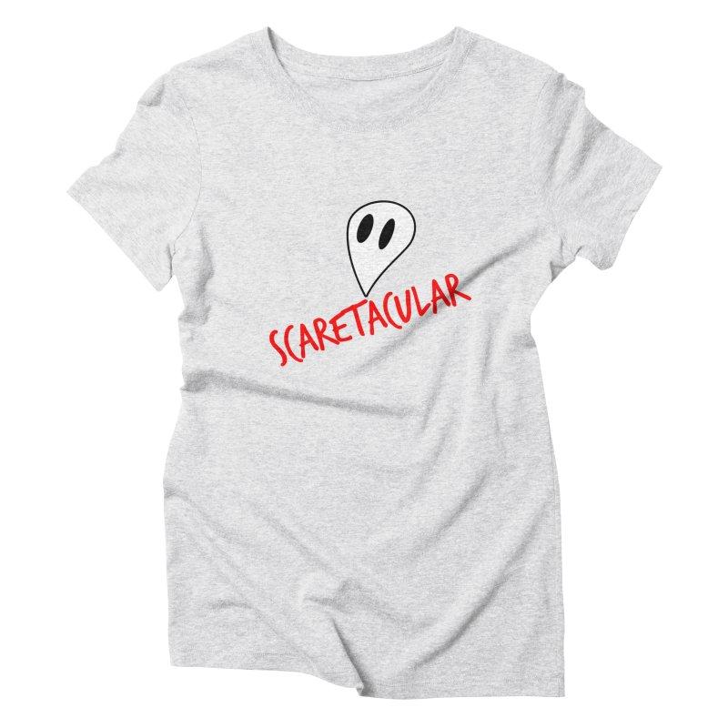 Scaretacular Women's Triblend T-Shirt by Magic Pixel's Artist Shop