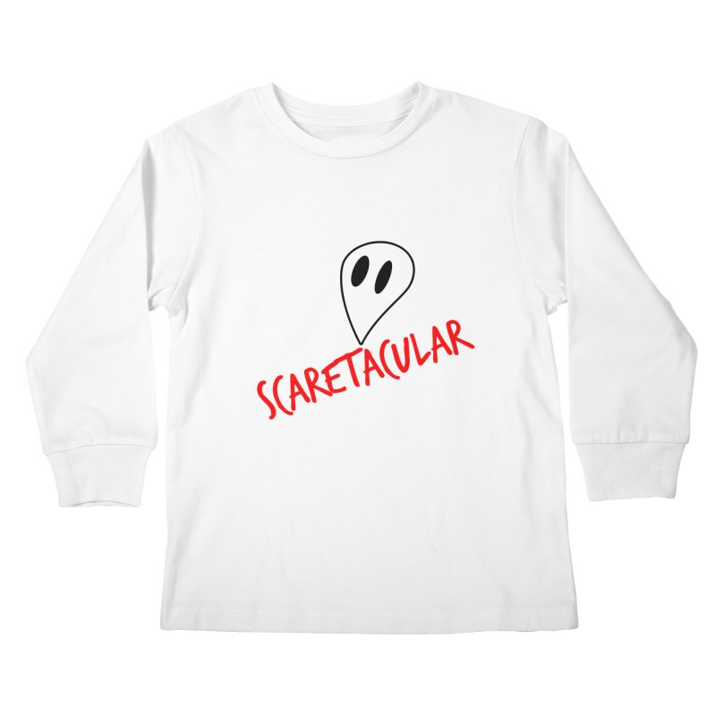 Scaretacular Kids Longsleeve T-Shirt by Magic Pixel's Artist Shop