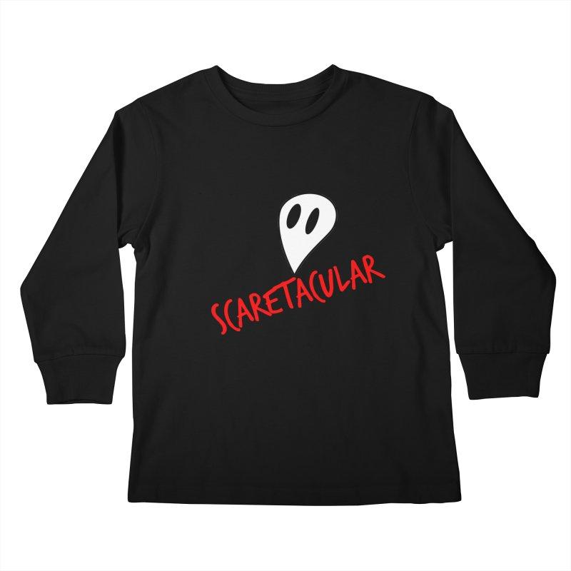 Scaretacular Kids Longsleeve T-Shirt by Magic Pixel's Artist Shop